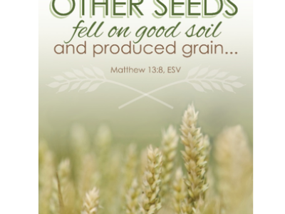 God's Will for You?  Be Good Soil!
