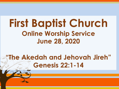 The Akedah and Jehovah Jireh