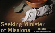 First Baptist Seeks Minister of Missions