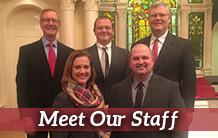 Our Church Staff