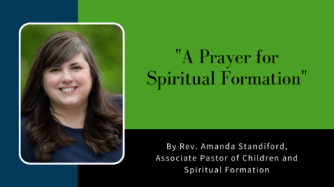 A Prayer for Spiritual Formation